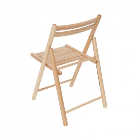 Scaun pliant din lemn IGOR R natur [3]