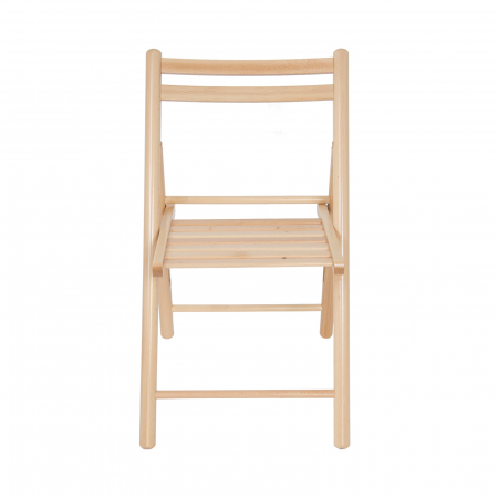 Scaun pliant din lemn IGOR R natur [5]