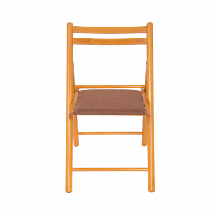 Scaun pliant din lemn IGOR R tapitat cires [5]
