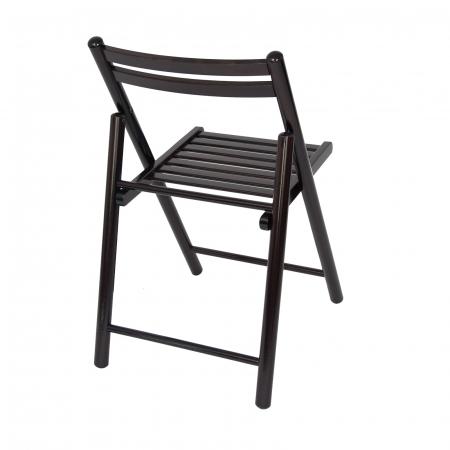 Scaun pliant din lemn IGOR R wenge [2]
