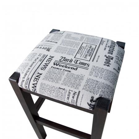 Taburet din lemn Chriss News - editie limitata [2]