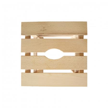 Taburet din lemn Sauna crud [2]
