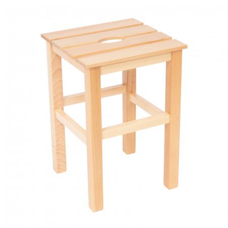 Taburet din lemn Sauna natur [0]