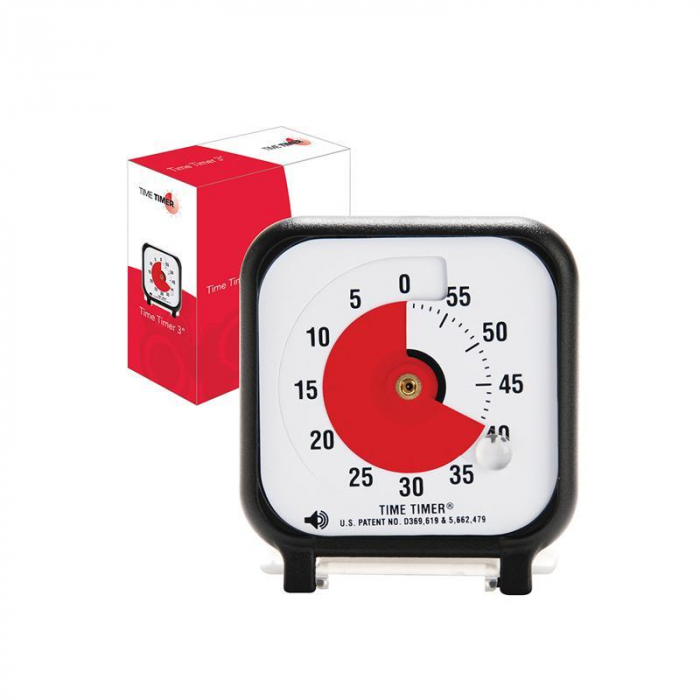 Ceas temporizator Time Timer mic, Robo [0]