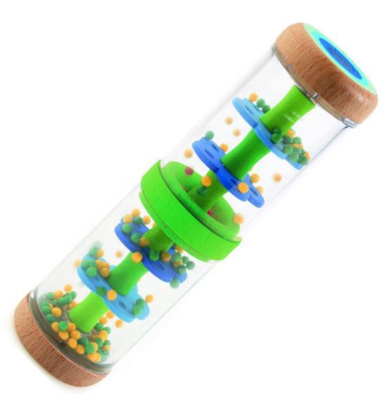 Jucarie bebe Djeco Ploaie colorata-Verde [1]