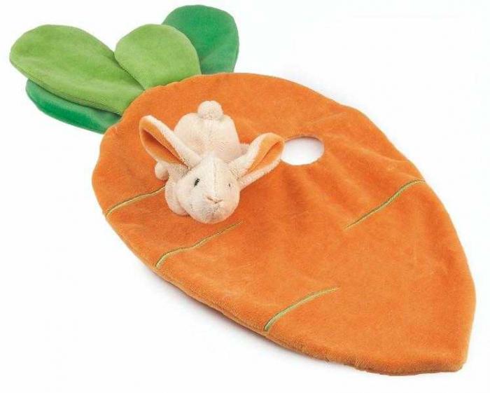 Jucarie doudou iepuras cu morcov, Egmont [0]