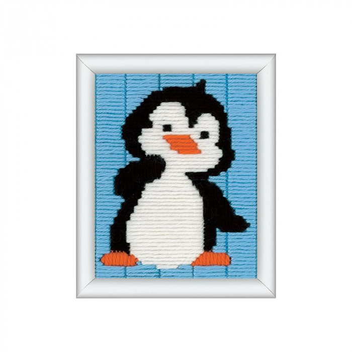 Kit creativ coasere Pinguin, Kits4Kids [0]
