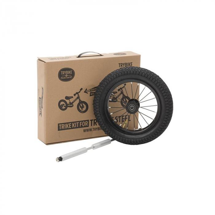 Kit tricicleta copii fara pedale negru, Trybike [0]