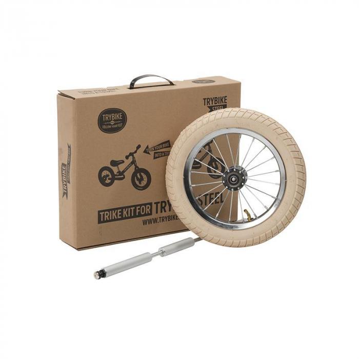 Kit tricicleta copii fara pedale vintage , Trybike [0]