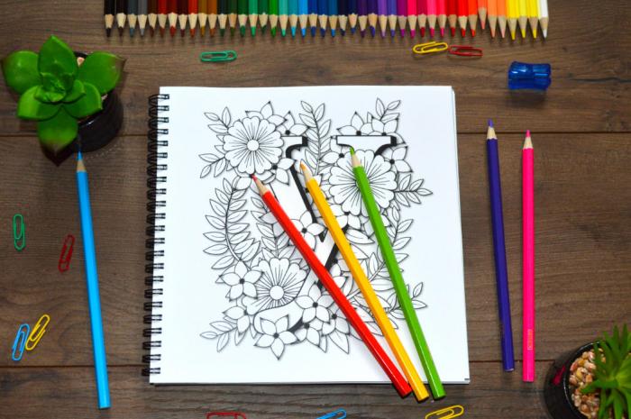 Litere și Flori [3]