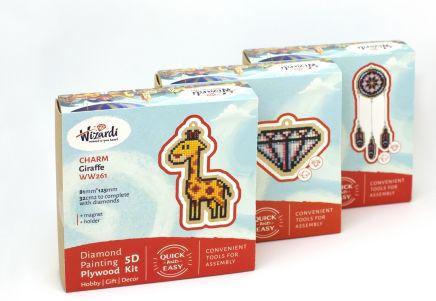 Pictura diamante kit leopard [2]