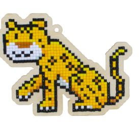 Pictura diamante kit leopard [0]