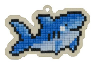 Pictura diamante kit rechin [0]
