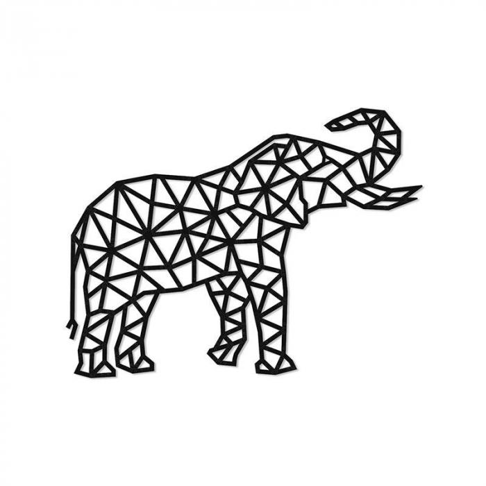 Puzzle 3D decorativ ELEPHANT din lemn 364 piese @ EWA [0]