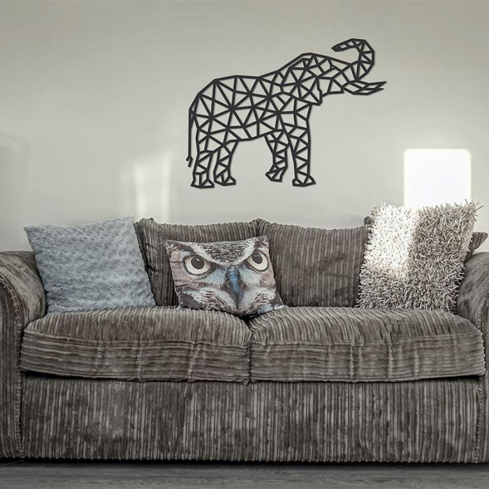 Puzzle 3D decorativ ELEPHANT din lemn 364 piese @ EWA [1]
