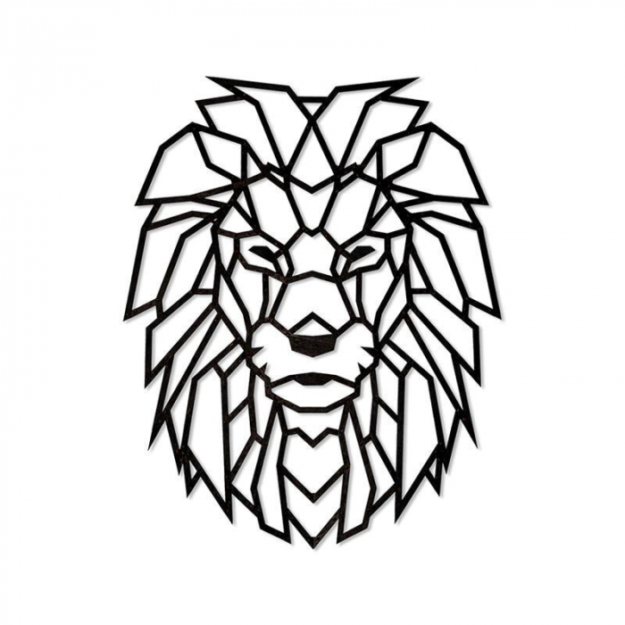 Puzzle 3D decorativ LION din lemn 250 piese @ EWA [0]