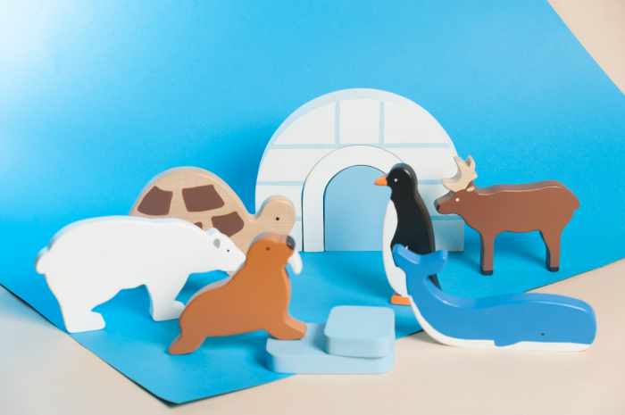 Set animale polare, Marc toys [1]