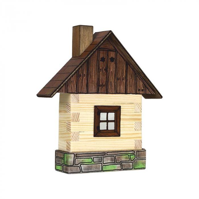 Set Cabanuta din lemn decorativa pentru perete, Walachia [0]