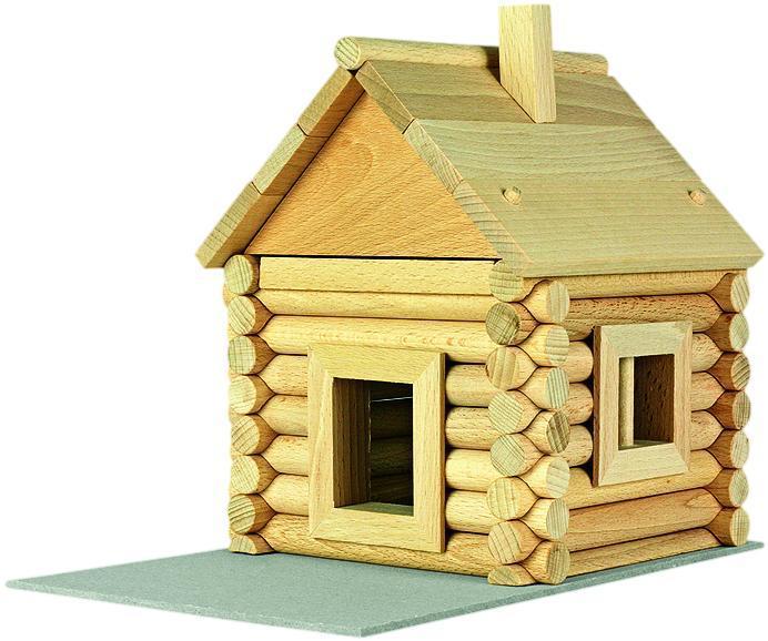 Set constructie arhitectura Vario Massive Mini, 91 piese mari din lemn, Walachia [5]