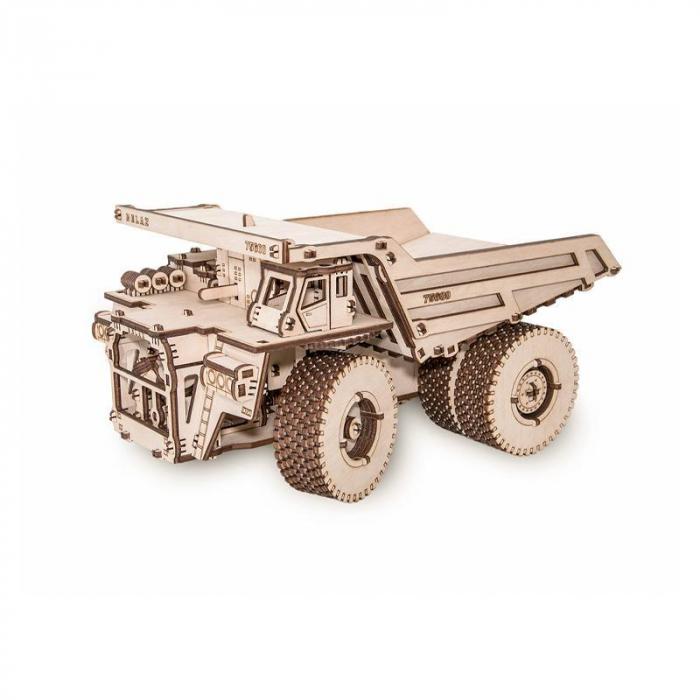 Set constructie cu mecanism Puzzle 3D BELAZ 75600 din lemn 307 piese @ EWA [0]