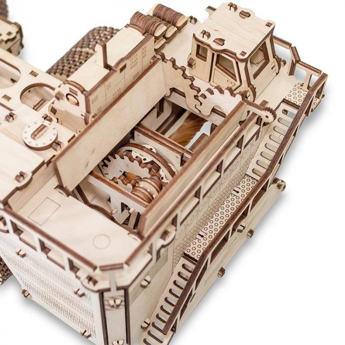 Set constructie cu mecanism Puzzle 3D BELAZ 75710 din lemn 453 piese @ EWA [5]