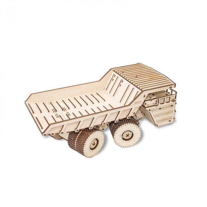Set constructie cu mecanism Puzzle 3D BELAZ 75710 din lemn 453 piese @ EWA [4]