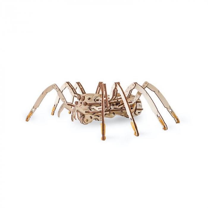Set constructie cu mecanism Puzzle 3D SPIDER din lemn 293 piese @ EWA [3]
