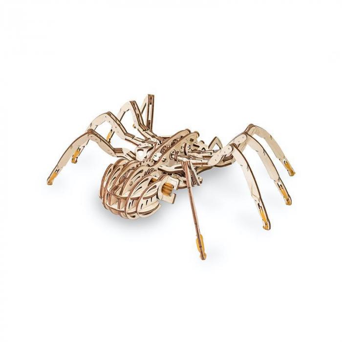 Set constructie cu mecanism Puzzle 3D SPIDER din lemn 293 piese @ EWA [5]