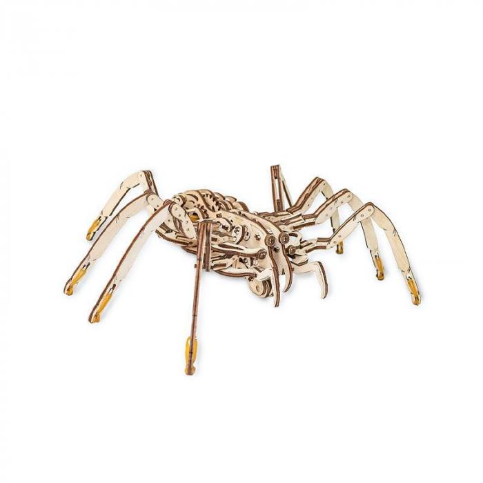 Set constructie cu mecanism Puzzle 3D SPIDER din lemn 293 piese @ EWA [0]