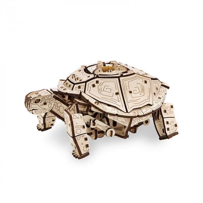 Set constructie cu mecanism Puzzle 3D TURTLE din lemn 269 piese @ EWA [0]