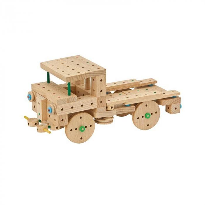 Set cuburi de constructie din lemn Explorer 200, +5 ani, Matador [2]