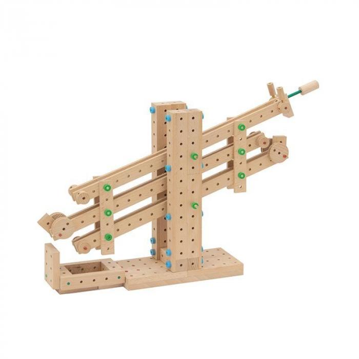 Set cuburi de constructie din lemn Explorer 300, +5 ani, Matador [3]