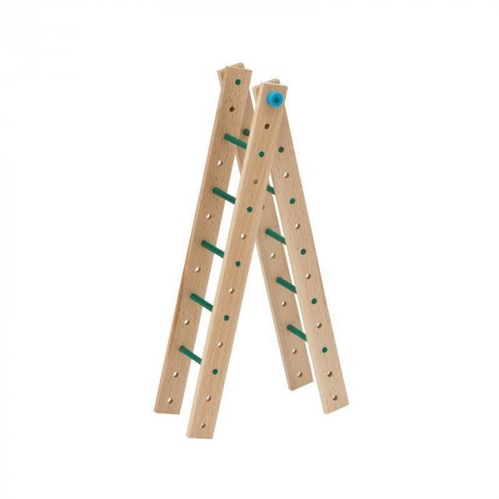 Set cuburi de constructie din lemn Explorer 318 piese, +5 ani, Matador [2]