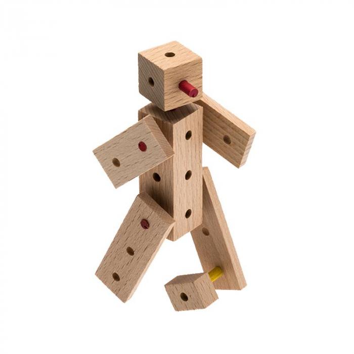 Set cuburi de constructie din lemn Explorer World Country, +5 ani, Matador [1]
