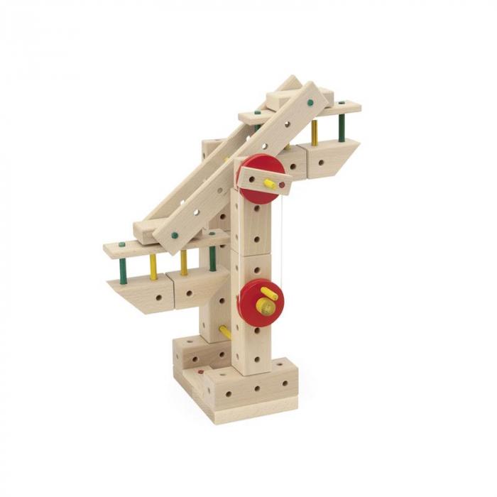 Set cuburi de constructie din lemn Maker 263 piese, +3 ani Matador [3]