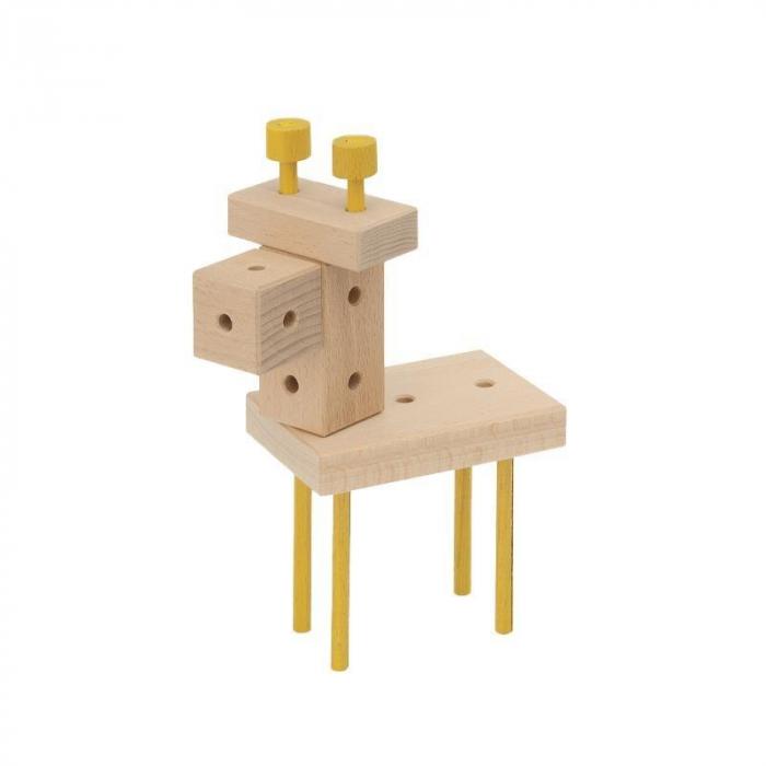 Set cuburi de constructie din lemn Maker 70 piese, +3 ani, Matador [6]