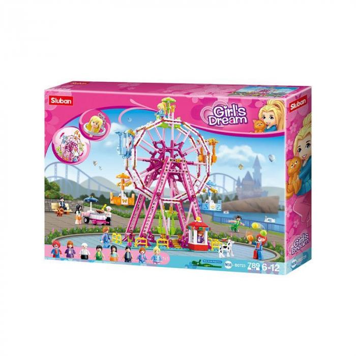Set de constructie, Girl's Dream Sky Wheel, 789 piese, Sluban - Colectie noua [0]