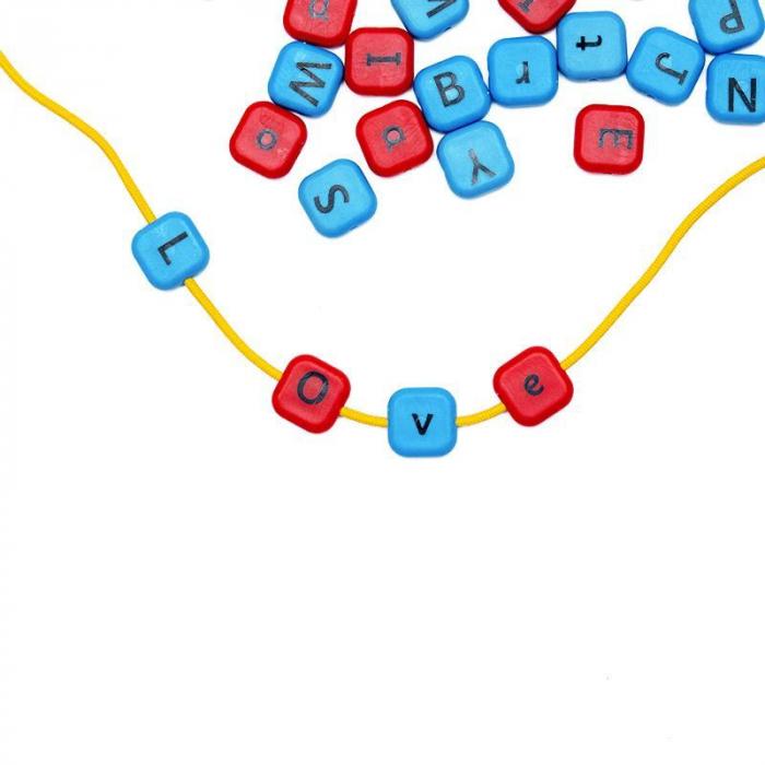 Set margele de insirat Alfabet, Nexus [2]