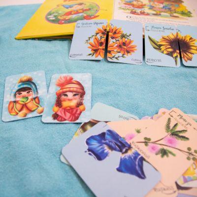 Flori, Fete și Băieți - Joc de memorie și inteligență emoțională [4]