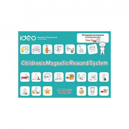 Joc educativ magnetic Recompensele copiilor cu pictograme, Robo [1]