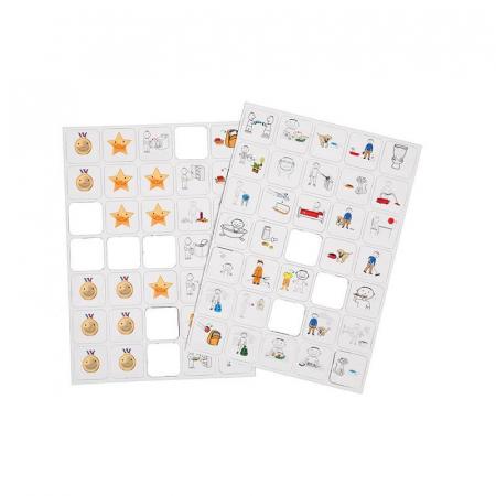 Joc educativ magnetic Recompensele copiilor cu pictograme, Robo [0]