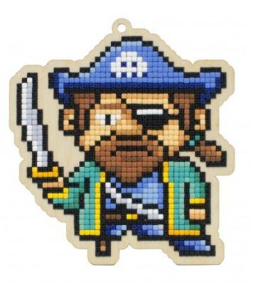 Pictura diamante kit capitanul pirat [0]