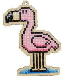 Pictura diamante kit  flamingo [0]