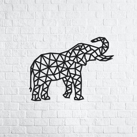 Puzzle 3D decorativ ELEPHANT din lemn 364 piese @ EWA [2]