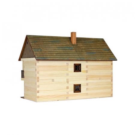 Set constructie arhitectura Casa magistratului, 298 piese din lemn, Walachia [1]