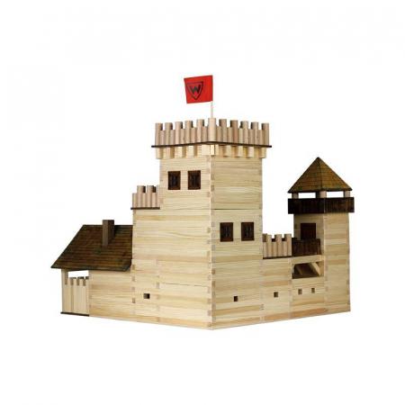 Set constructie arhitectura Castel, 607 piese din lemn, Walachia [1]