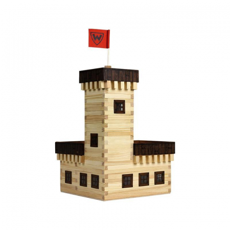 Set constructie arhitectura Castel de vara, 296 piese din lemn, Walachia [1]