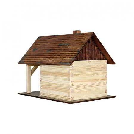 Set constructie arhitectura Fierarie, 86 piese din lemn, Walachia [1]