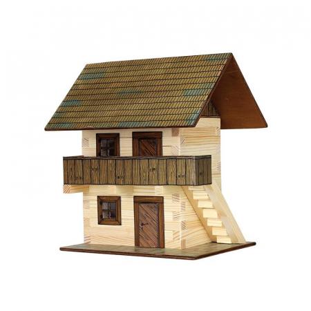 Set constructie arhitectura Granar, 126 piese din lemn, Walachia [0]