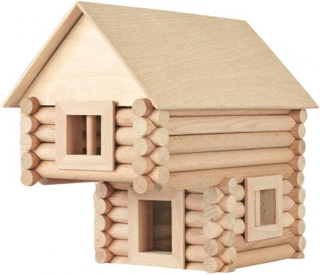 Set constructie arhitectura Vario, 72 piese din lemn, Walachia [4]